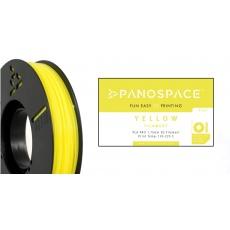 FILAMENT Panospace type: PLA -- 1,75mm, 750 gram per roll - Žlutá