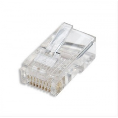 Intellinet konektor RJ45, drát UTP Cat5e, 100ks v nádobě