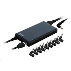 iTec Ultra Slim power adapter 90W - univerzální napájecí adaptér pro notebooky