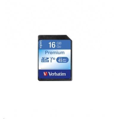 VERBATIM SDHC karta 16GB Class10