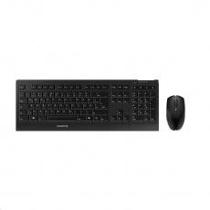 CHERRY set klávesnice + myš B.UNLIMITED 3.0, bezdrátová, EU, černá