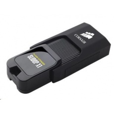 CORSAIR Flash Disk 64GB Voyager Slider X1, USB 3.0, černá