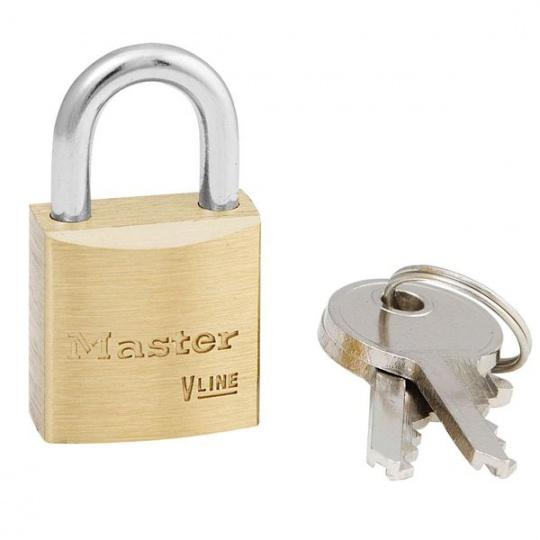 MasterLock 4130 Visací mosazný zámek na klíč - 30mm