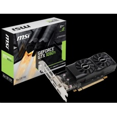 MSI VGA NVIDIA GeForce GTX 1050 TI 4GT LP, GTX 1050, 4GB GDDR5, 1xHDMI, 1xDP, 1xDVI