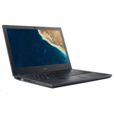 "ACER NTB TMP2410-G2-M-88VB - i7-8550U,14""FHD IPS,8GB(4+4),156SSD,HD graphics,noDVD,USB-C,HDcam,W10P,black,2r on-site"