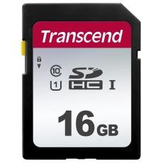 TRANSCEND SDHC karta 16GB 300S, UHS-I U1 (R:95/W:45 MB/s)