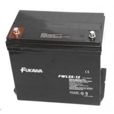 Baterie - FUKAWA FWL 55-12 (12V/55 Ah - M6), životnost 10let