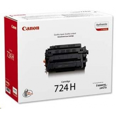 Canon LASER TONER  724H 12 500 stran*