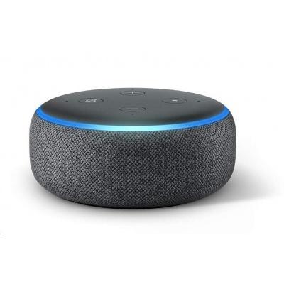 Amazon Echo Dot (3. generace) Charcoal - šedá