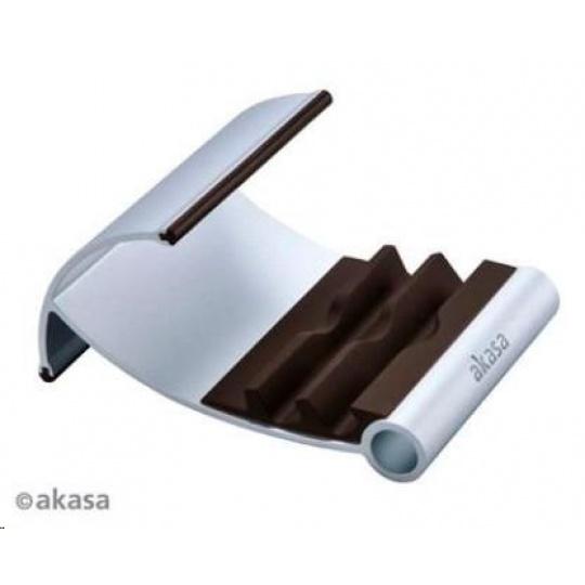 AKASA stojánek na tablet  AK-NC054-BR, hliníkový, hnědý
