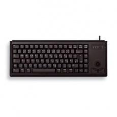 CHERRY klávesnice G84-4400, trackball, ultralehká, USB, EU, černá