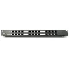 POE injektor panel pasivní - 12 portů