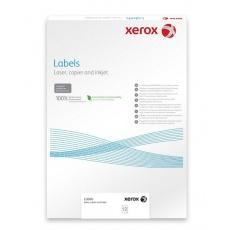 Plastový samolepicí materiál Xerox PNT Label - Gloss White (229g/50 listů, A3)