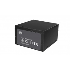 Cooler Master zdroj MasterWatt Lite 600, 600W, 120mm, 80+