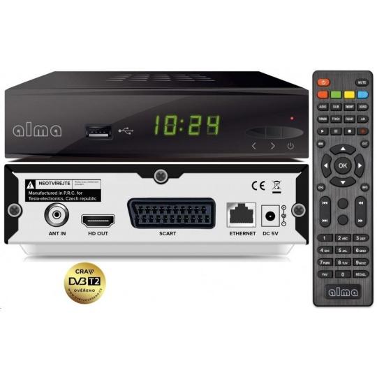 Alma 2860, DVB-T2 HEVC FTA přijímač - repair