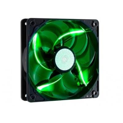 Cooler Master ventilátor SickleFlow 120x120x25, 19dBA, zelená LED