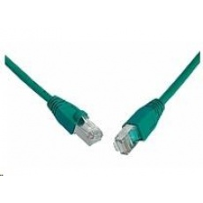 Solarix Patch kabel CAT6 SFTP PVC 2m zelený snag-proof C6-315GR-2MB