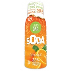 LIMO BAR - sirup Orange 0,5l