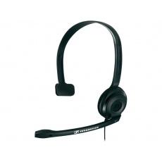SENNHEISER PC 2 CHAT black (černý) headset - jednostranné sluchátko s mikrofonem