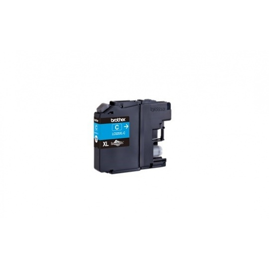 BROTHER INK LC-525XLC cyan (ISO / IEC 24711) - DCP-J100 / DCP-J105 / MFC-J200 cca 1300