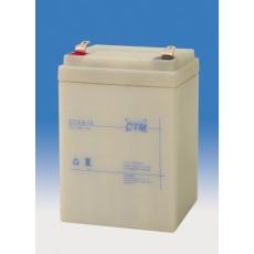 Baterie - CTM CT 12-2,6 (12V/2,6Ah - Faston 187), životnost 5let