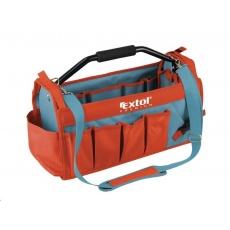 Extol Premium (8858022) taška na nářadí s kovovou rukojetí, 49x23x28cm, 31 kapes, nylon