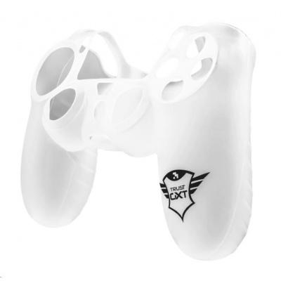 TRUST silikonový obal pro PS4 GXT 744T Rubber Skin -  transparentní