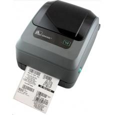 Zebra TT tiskárna GX430T, 300DPI, EPL2, ZPL II, USB, RS232, LAN