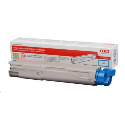 Oki Toner Cyan do C3520 MFP/C3530 MFP/MC350/MC360 (2.5k)