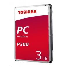 "TOSHIBA HDD P300 Desktop PC (CMR) 3TB, SATA III, 7200 rpm, 64MB cache, 3,5"", RETAIL"