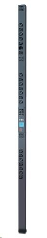 APC Rack PDU 2G, Metered-by-Outlet, ZeroU, 16A, 100-240V, (21)C13 & (3)C19, IEC-320 C20