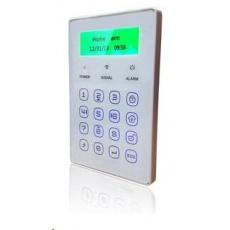 iGET P13 SECURITY Externí bezdrátová dotyková klávesnice, LCD displej