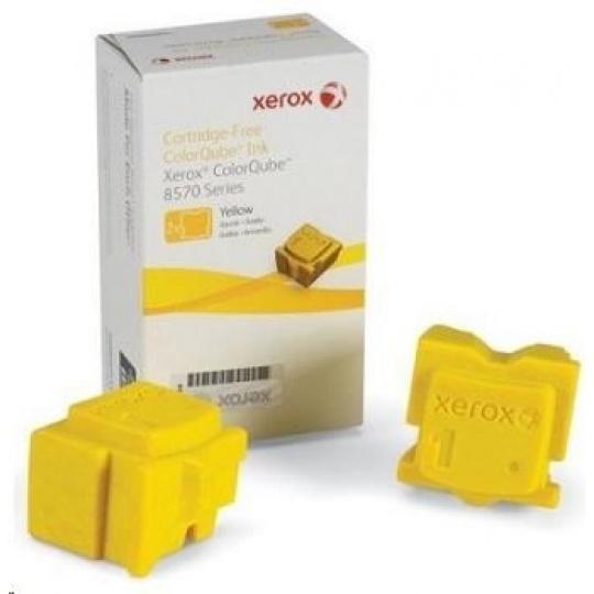 Xerox ColorQube Ink pro 8570/8580 Yellow (2 STICKS), DMO (4.400 str.)