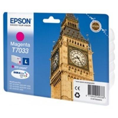 EPSON Ink bar WorkForce-4000/4500 - Magenta L - 800str. (9,6 ml)