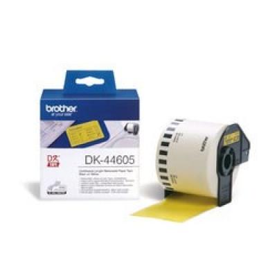 BROTHER DK-44605 žlutá papírová role snadno odstranitelná (62mm)