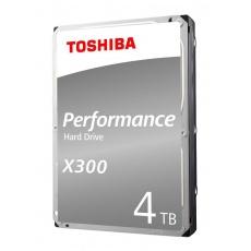 "TOSHIBA HDD X300 4TB, SATA III, 7200 rpm, 128MB cache, 3,5"", RETAIL"