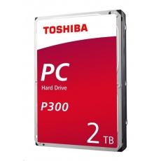 "TOSHIBA HDD P300 Desktop PC (CMR) 2TB, SATA III, 7200 rpm, 64MB cache, 3,5"", RETAIL"