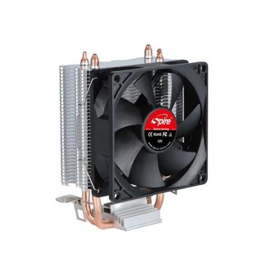 SPIRE CPU chladič Frontier Plus, 92x25mm, 3-pin, 1800-2200RPM, 10-22dBA, universal