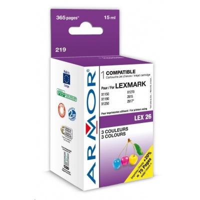 ARMOR cartridge pro Lexmark Z13/23/25/33/35 Color (10N0026)