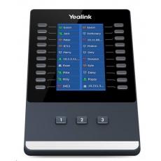 Yealink EXP43 rozšiřující modul, barevný podsvícený, 20 prog. tl. (x3 strany), pro T43U / T46U / T48U