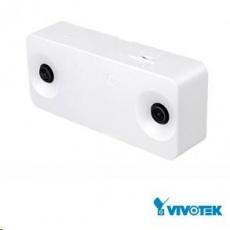 Vivotek SC8131, 2.7 Mpix, 15 sn/s, 2x obj., DI/DO, PoE 802.3af/USB2.0, MicroSDXC, 3D počítání osob, 98% přesnost