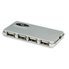 MANHATTAN USB 2.0 hub Micro 4 porty, aktivní (s napájecím adaptérem)