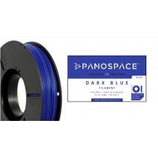FILAMENT Panospace type: PLA -- 1,75mm, 750 gram per roll - Modrá