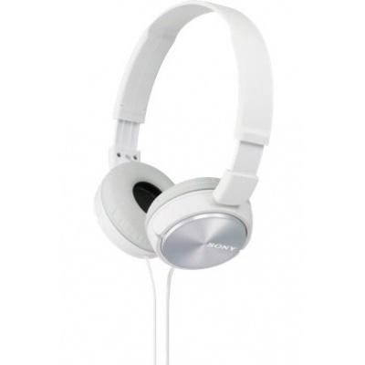 SONY stereo sluchátka MDR-ZX310, bílá