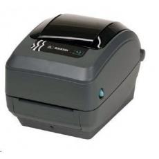 Zebra TT tiskárna GX420T, 203DPI, EPL2, ZPL II, USB/RS232/LPT, odlepovač (PEELER)