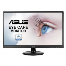 "ASUS LCD 23.8"" VA249HE FHD mat (1920x1080)  250cd, 5ms, DSUB HDMI Low Blue Light VESA - VGA kabel"