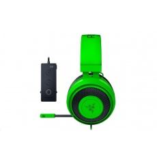 RAZER sluchátka Kraken Tournament Edition s audio ovladačem THX, zelené