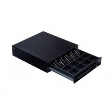 PARTNER Tech pokladní zásuvka CB-410 RJ11 EPSON, STAR, 24V black