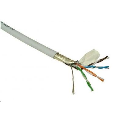 FTP kabel PlanetElite, Cat5E, licna, PVC, Dca, šedý, 305m