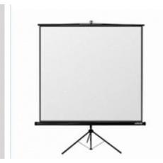 Reflecta TRIPOD Crystal Lux (200x200cm, 2cm černý okraj) plátno stojanové